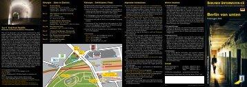 Faltblatt Führungen 2013 deutsch - Berliner Unterwelten eV