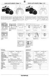 Olympus Zuiko Auto-Macro 20mm 1:2 - UCL Astronomy Group
