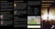 Faltblatt Informationen zum Verein - Berliner Unterwelten eV