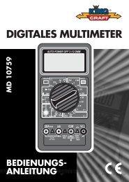 Cover Multimeter MD 10759 D.FH11