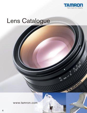 Tamron Lenses - Lens-Club
