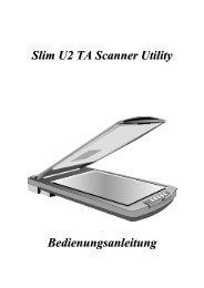 Kapitel 1 Das Slim U2 TA Scanner Utility