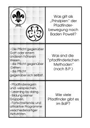 der Pfadfinder - Bund der Pfadfinderinnen und Pfadfinder eV :: Hessen
