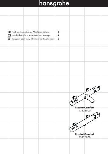 Notice de montage (PDF) Thermostatique