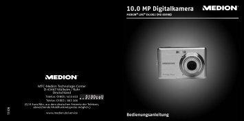 10.0 MP Digitalkamera - medion