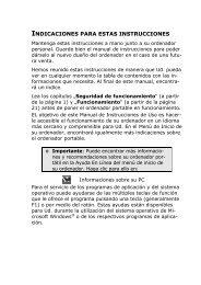 INDICACIONES PARA ESTAS INSTRUCCIONES - medion