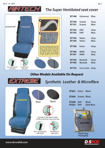 Seat Covers -Truck WEB - D&S ROE LTD