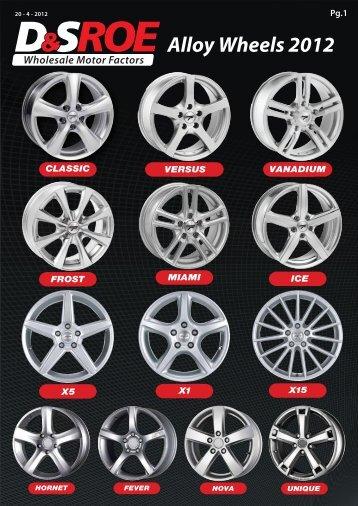 Alloy Wheels updated W - D&S ROE LTD