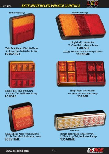 LED Autolamps unpriced_pages 1-9 - D&S ROE LTD