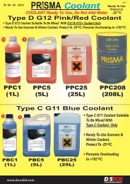 Prisma Coolant W - D&S ROE LTD
