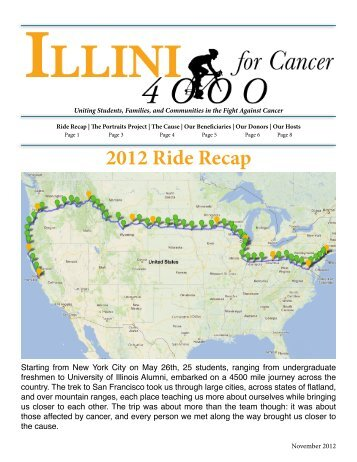 2012 Fall Newsletter - Illini 4000