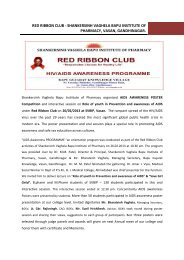 AIDS Awareness Programme Report held on 26/02/2012 at SVBIP