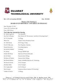 Gujarat Technological University