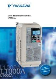 yaskawa lift inverter L1000A