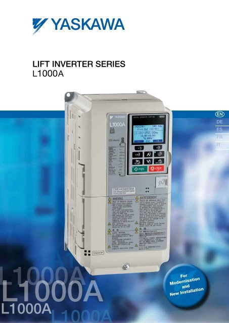 Yaskawa Lift Inverter L1000A