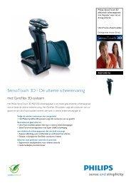 RQ1250/16 Philips elektrisch scheerapparaat met Aquatec voor nat ...