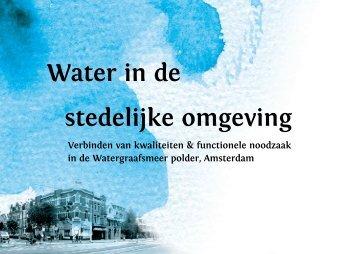 Water in de stedelijke omgeving - Technische Universiteit Eindhoven