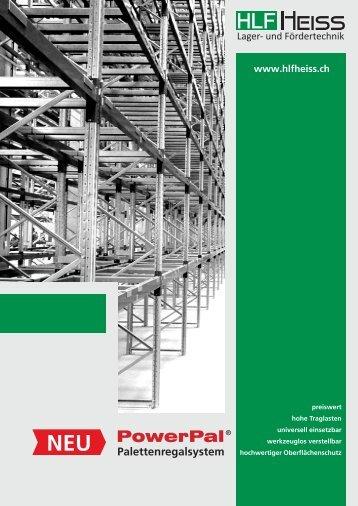 HLF Heiss AG PowerPal Palettenregalsystem