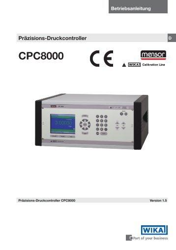 CPC8000 - WIKA Argentina SA