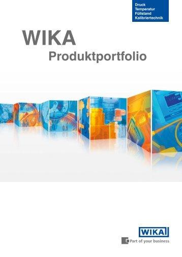 Produktportfolio - WIKA Argentina SA
