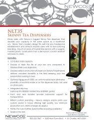 Skinny Tea Dispensers