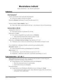 Ophavsret - Moralrettens indhold - JuraWiki
