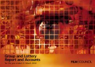 UK Film Council Annual Report and Accounts 2001-02 - BFI - British ...