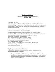 The Energy Task Force Summary of Findings & Recommendations ...