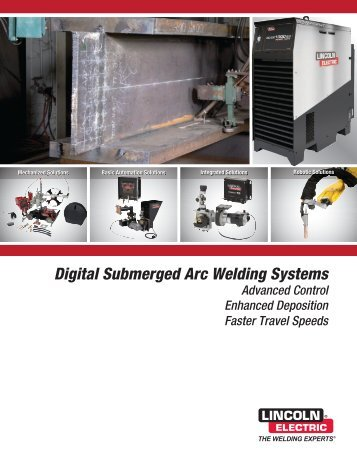 Digital Submerged Arc Welding Systems - Lincoln Electric