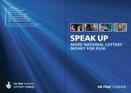National Lottery Consultation - BFI