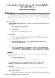 Materielle aktiver, fast ejendom og miljø, brugsrettigheder ... - JuraWiki