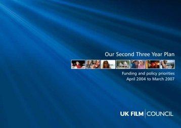 Our Second Three Year Plan - BFI - British Film Institute