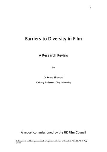 barriers in diversity With more companies moving towards a global initiative, diversity plays a vital role in reaching a greater number of customers diversity includes all of the characteristics that make someone different, including age, race, gender, physical qualities and sexual orientation companies that emphasize .