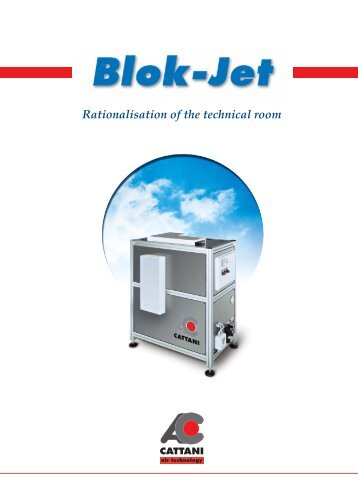 DEP. Blok-Jet/3 2003 - CATTANI SpA