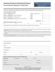 2013 Exhibitor Application and Contract - American Society for ...