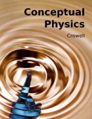 Crowell - Conceptual Physics - Instituto de Artes
