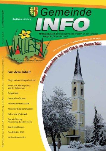 Folge 06/2007 - Wallern - Land Oberösterreich