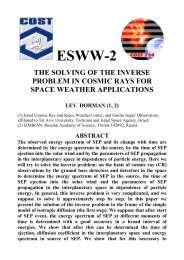 ESWW-2 - ESA Space Weather Web Server