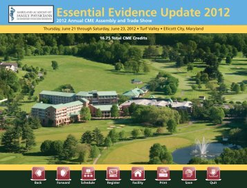 Essential Evidence Update 2012 - Maryland Academy of Family ...