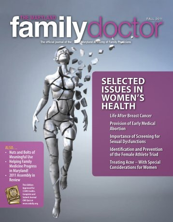 Fall 2011 - Maryland Academy of Family Physicians
