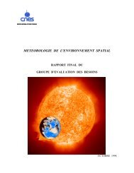 meteorologie de l'environnement spatial - ESA Space Weather Web ...