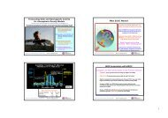 Forecasting Solar and Geomagnetic Activity for Atmospheric Density ...