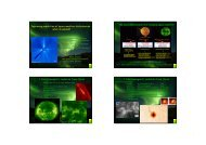 Improving prediction of space weather disturbances - ESA Space ...