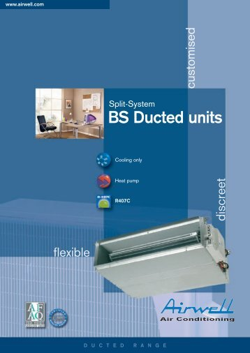 BS Ducted units