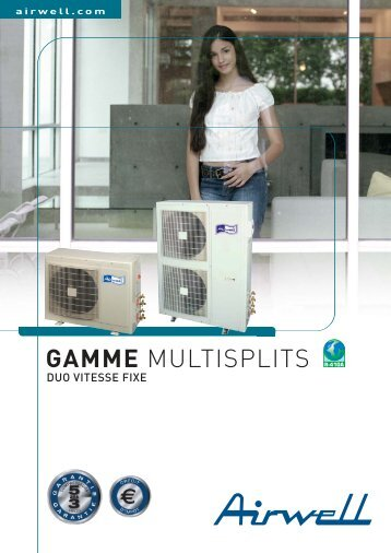 Gamme Multisplits Duo vitesse fixe