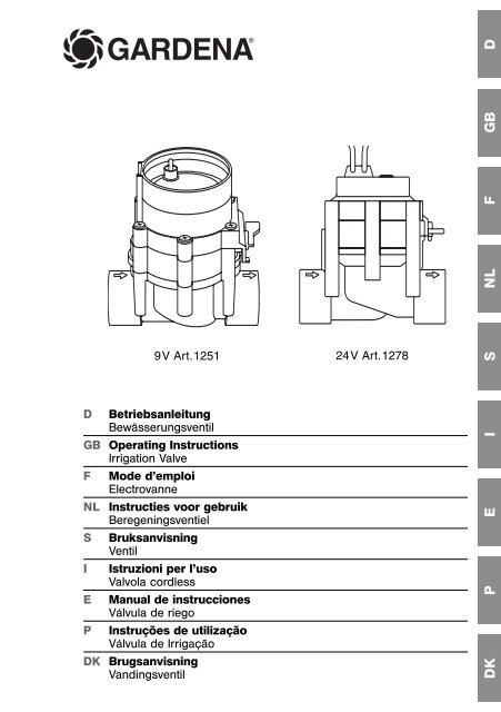 """2763 filetage extérieur pour sprinkler système Gardena Connecteur 25 mm x 1/"""""""