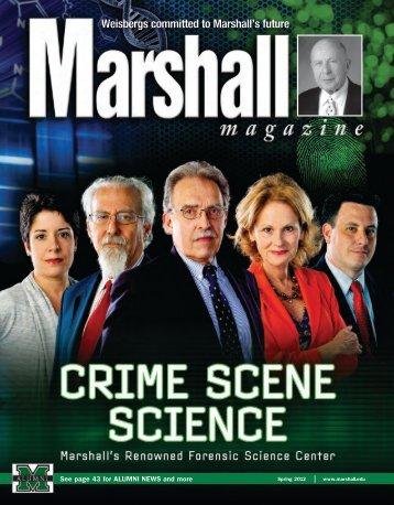 Cover Story: Crime Scene Science - Marshall University Forensic ...
