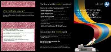 Smart Printing Services - HP