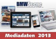 Mediadaten 2013 - BMW SCENE LIVE