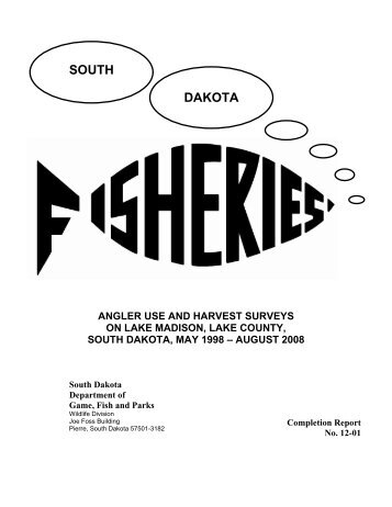 11-year Summary for Angler Use and Harvest Surveys on Lake ...